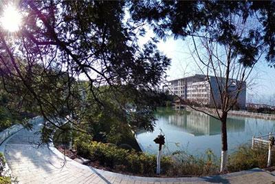 重庆三峡医药高等专科院校校园环境